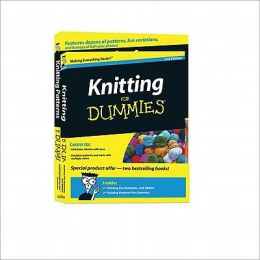 Knitting For Dummies, 2nd Edition & Knitting Patterns For Dummies, Book Bundle