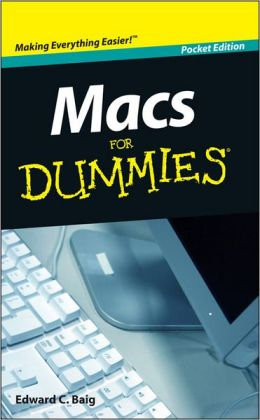 Macs For Dummies<sup>&#174;</sup>, Pocket Edition