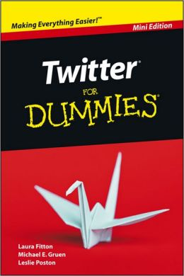 Cover image of Twitter for Dummies book