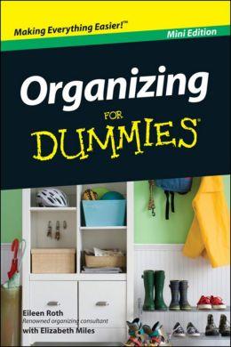 Organizing For Dummies®, Mini Edition