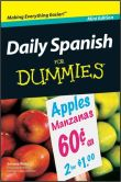 Book Cover Image. Title: Daily Spanish For Dummies, Mini Edition, Author: Susana Wald