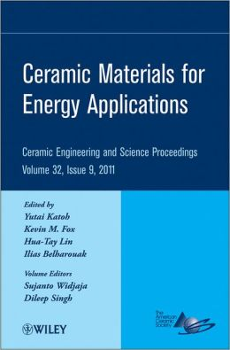 Ceramic Materials for Energy Applications: Ceramic Engineering and Science Proceedings