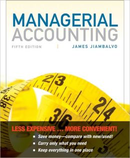 Managerial Accounting, Binder-Ready Version