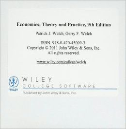 Economics, Wiley Resource Kit: Theory and Practice