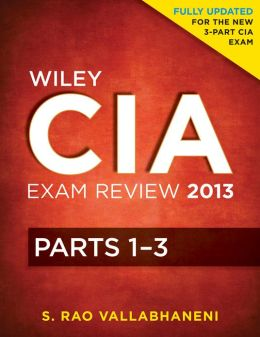 Wiley CIA Exam Review: Volumes 1 - 3 Set