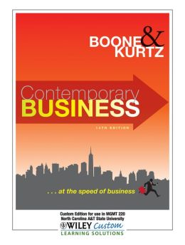Exercise Packet w/Contemporary Business 14th Edition for NC A&TSU