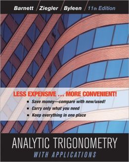 Analytic Trigonometry with Applications, Eleventh Edition Binder Ready Version