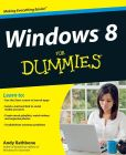 Book Cover Image. Title: Windows 8 For Dummies, Author: Andy Rathbone