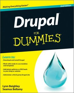 Drupal For Dummies