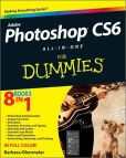 Book Cover Image. Title: Photoshop CS6 All-in-One For Dummies, Author: Barbara Obermeier
