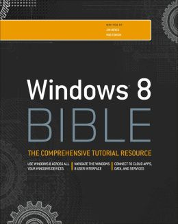 Windows 8 Bible