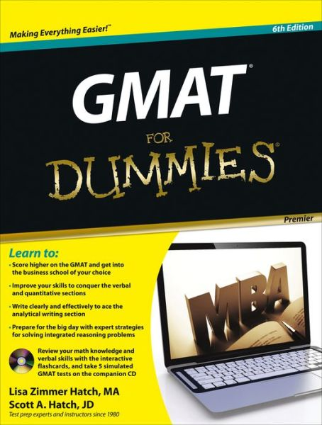 GMAT For Dummies, with CD