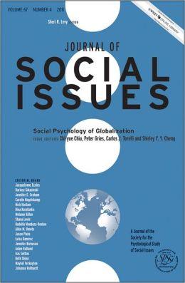 Social Psychology of Globalization
