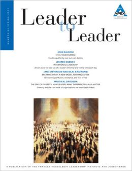 Leader to Leader, Volume 64, Spring 2012
