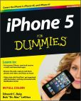 Book Cover Image. Title: iPhone 5 For Dummies, Author: Edward C. Baig