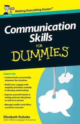 Communication Skills For Dummies