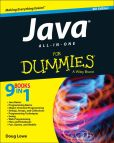 Book Cover Image. Title: Java All-in-One For Dummies, Author: Doug Lowe