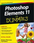 Book Cover Image. Title: Photoshop Elements 11 For Dummies, Author: Barbara Obermeier