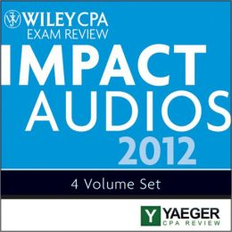 Wiley CPA Exam Review 2012 Impact Audios Set