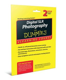 Digital SLR Photography For Dummies eLearning Course Access Code Card (6 Month Subscription)