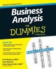 Book Cover Image. Title: Business Analysis For Dummies, Author: Kupe Kupersmith