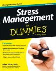 Book Cover Image. Title: Stress Management For Dummies, Author: Allen Elkin