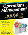 Book Cover Image. Title: Operations Management For Dummies, Author: Geoffrey Parker