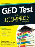 Book Cover Image. Title: GED For Dummies, Author: Murray Shukyn