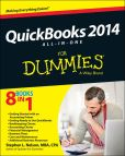Book Cover Image. Title: QuickBooks 2014 All-in-One For Dummies, Author: Stephen L. Nelson