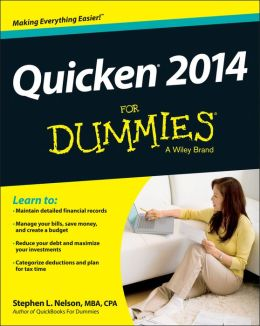 Quicken 2014 For Dummies