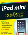 Book Cover Image. Title: iPad mini For Dummies, Author: Edward C. Baig