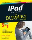 Book Cover Image. Title: iPad All-in-One For Dummies, Author: Nancy C. Muir