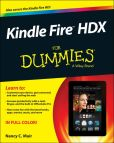 Book Cover Image. Title: Kindle Fire HDX For Dummies, Author: Nancy C. Muir