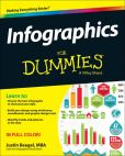 Book Cover Image. Title: Infographics For Dummies, Author: Justin Beegel