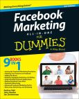 Book Cover Image. Title: Facebook Marketing All-in-One For Dummies, Author: Andrea Vahl
