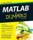 Book Cover Image. Title: MATLAB For Dummies, Author: Jim Sizemore