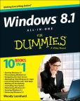 Book Cover Image. Title: Windows 8.1 All-in-One For Dummies, Author: Woody Leonhard