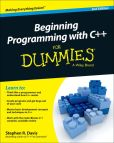 Book Cover Image. Title: Beginning Programming with C++ For Dummies, Author: Stephen R. Davis