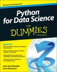 Book Cover Image. Title: Python for Data Science For Dummies, Author: John Paul Mueller