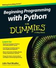 Book Cover Image. Title: Beginning Programming with Python For Dummies, Author: John Paul Mueller