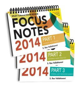 Wiley CIAexcel Focus Notes 2014: Complete Set
