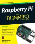 Book Cover Image. Title: Raspberry Pi For Dummies, Author: Sean McManus