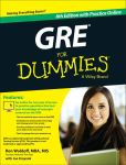 Book Cover Image. Title: GRE For Dummies:  with Online Practice Tests, Author: Ron Woldoff