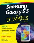 Book Cover Image. Title: Samsung Galaxy S5 For Dummies, Author: Bill Hughes