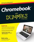 Book Cover Image. Title: Chromebook For Dummies, Author: Mark LaFay