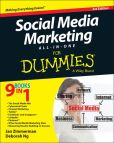 Book Cover Image. Title: Social Media Marketing All-in-One For Dummies, Author: Jan Zimmerman