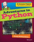 Book Cover Image. Title: Adventures in Python, Author: Craig Richardson
