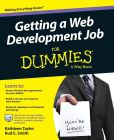 Book Cover Image. Title: Getting a Web Development Job For Dummies, Author: Kathleen Taylor
