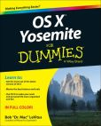 Book Cover Image. Title: OS X Yosemite For Dummies, Author: Bob LeVitus