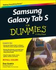 Book Cover Image. Title: Samsung Galaxy Tab S For Dummies, Author: Dan Gookin